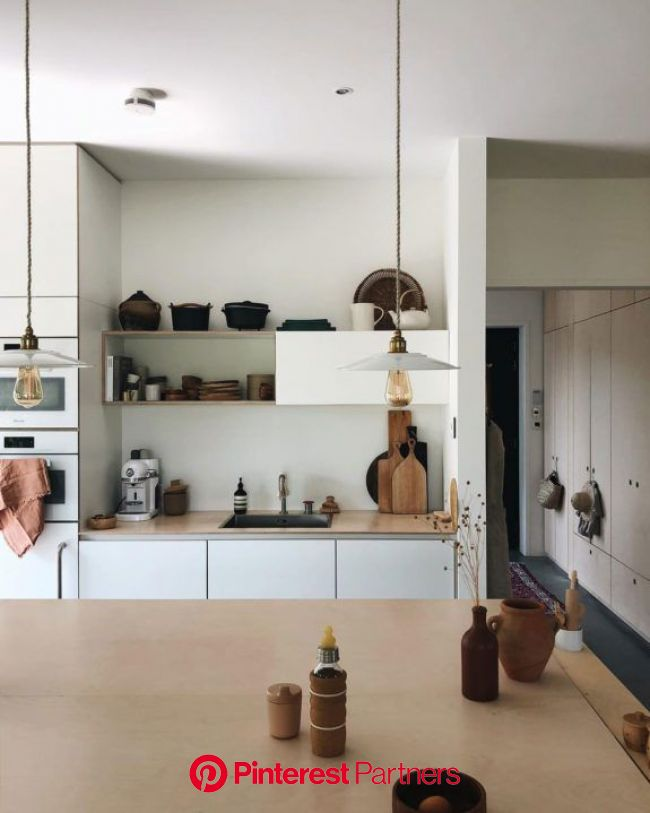 a natural home in the netherlands.   Minimalist modern kitchens, My scandinavian home, Scandinavian home