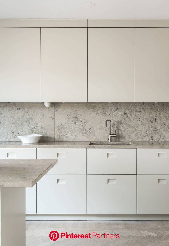 All beige kitchen and dining room - COCO LAPINE DESIGN in 2020 | Beige kitchen, Minimal kitchen design, Interior design kitchen