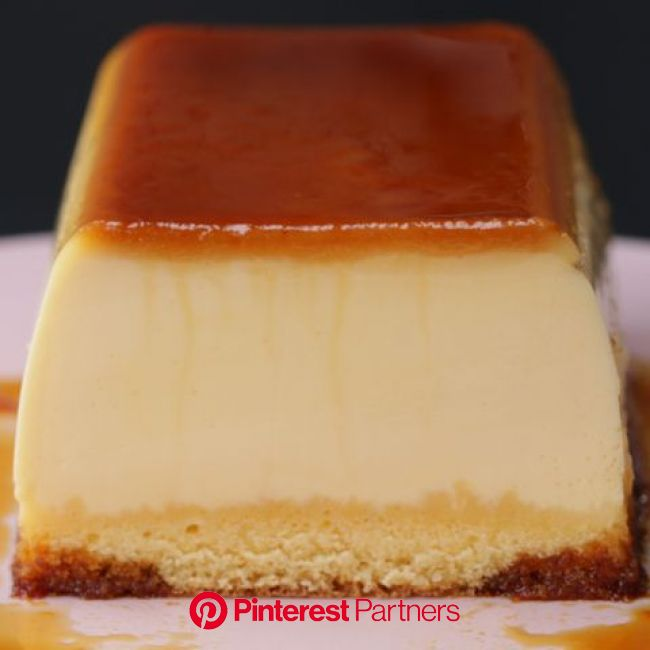 プルンプルン!2層のプリンケーキ in 2020 | Sweet recipes, Desserts, Dessert recipes