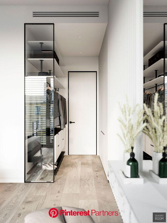 ЖК I'm https://www.instagram.com/quadro_room/ on Behance | Apartment interior, Interior, Dressing room design