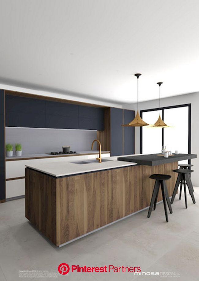 Design Aspects to Consider in Contemporary Kitchen Renovation | Modern kitchen design, Minimalist kitchen design, White kitchen design
