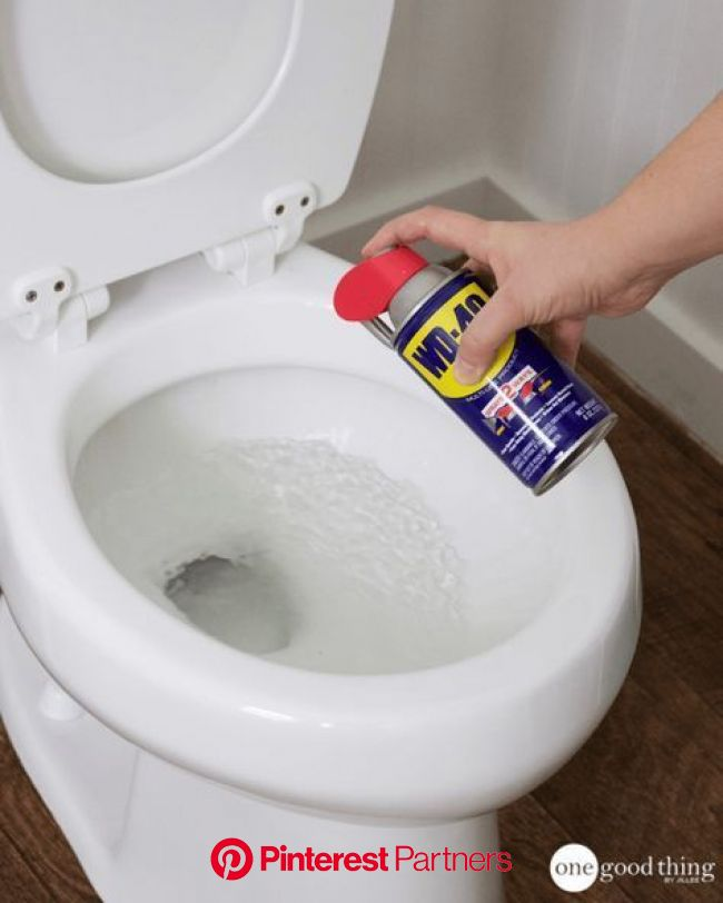 12 Ways That WD-40 Is The Ultimate Problem Solver | Toilet cleaning, House cleaning tips, Cleaning hacks