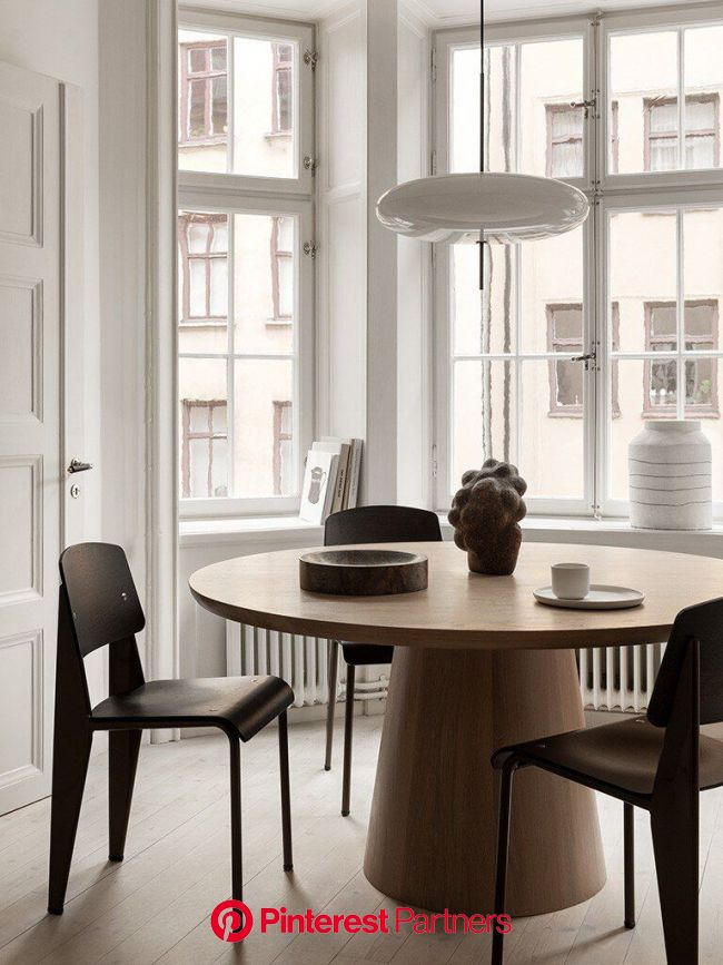 The visual journal of Therese Sennerholt — APRIL AND MAY in 2020 | Neutral dining room, Dining room inspiration, Home remodeling