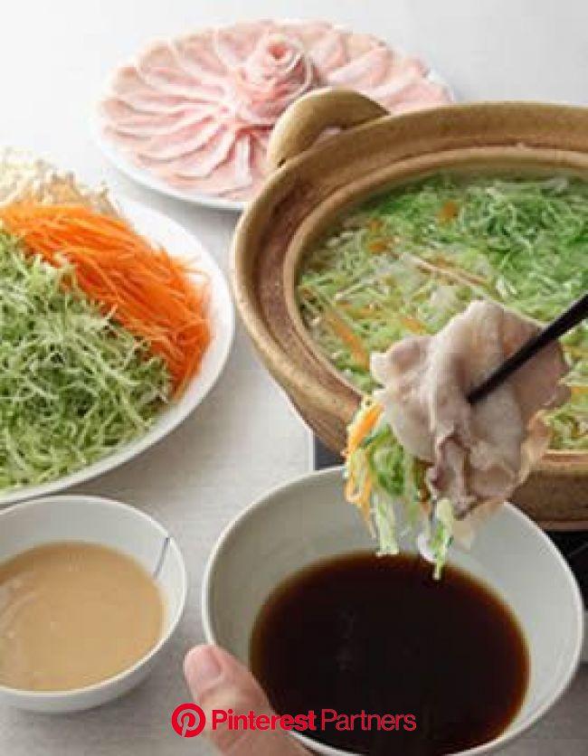 細切りキャベツの豚シャキ鍋 | レシピ | レシピ, 料理 レシピ, 料理