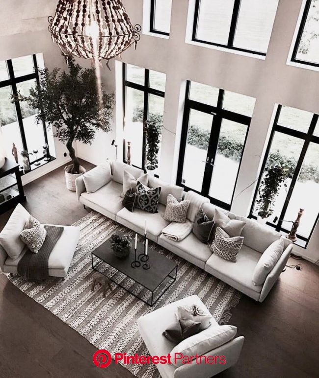 PIN: HeatherDelamorton | Comfortable living rooms, Dream home design, House design