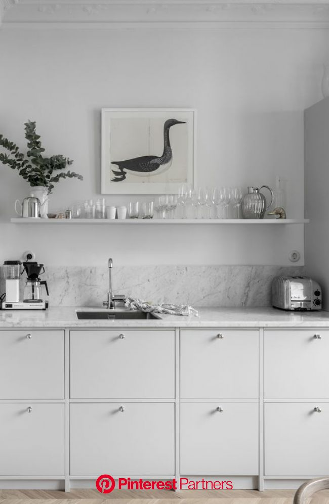 Top 10 – The most chic kitchen spaces this summer can have | Köksdesign, Lägenhet kök, Inreda kök
