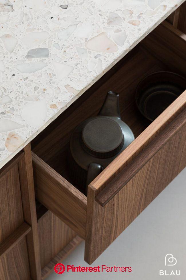 Blau blogi — BLAU interior -Helsinki | Walnut kitchen, Interior, Kitchen concepts