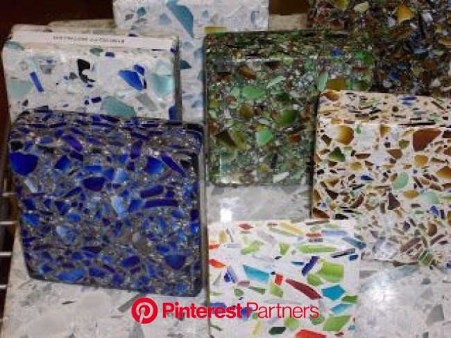 Cindy Dole Home Improvement Ideas and Answers: May 2009 | Recycled glass countertops, Tile countertops diy, Glass countertops