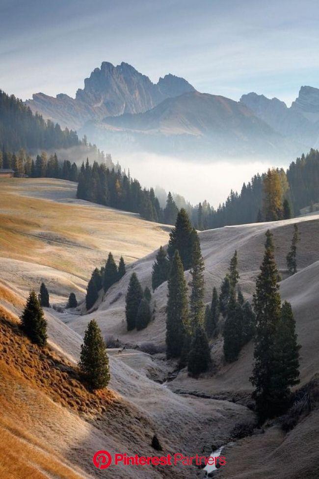 http://renamonkalou.tumblr.com/post/167625689026/moody-fields-in-the-dolomites-martin-rak   Nature photography, Beautiful nature, Mountain landscape