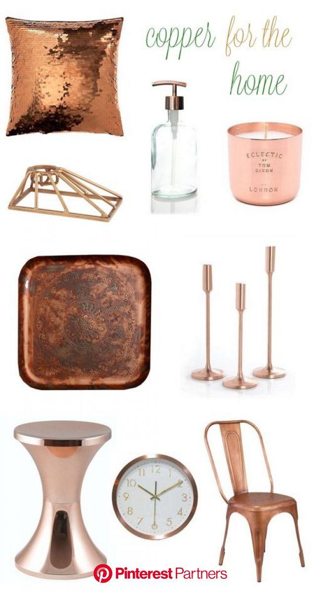 Trending: Copper for Fall | Copper decor, Home decor trends