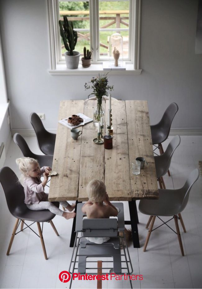 [ Inspiration déco ] La déco neutre et nature | Dining room design, Dining room decor, Decor
