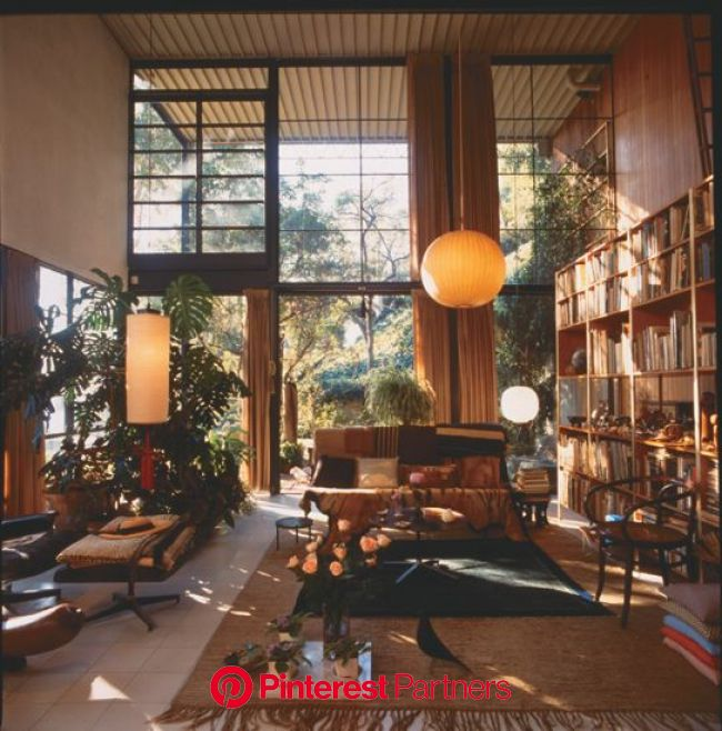 eames case study house | Eames house, House restoration, House interior