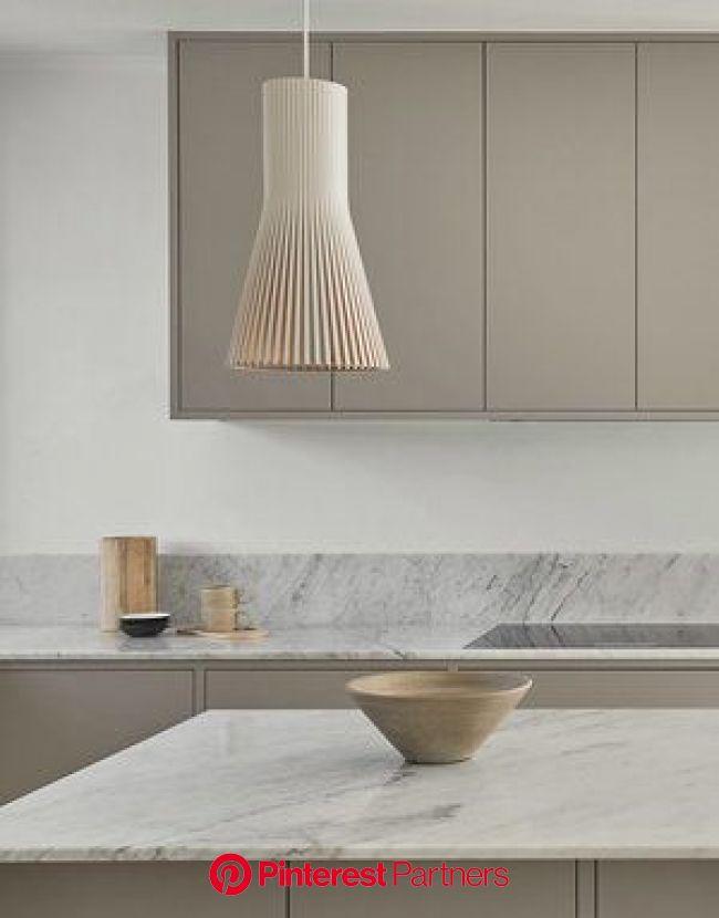 Nordiska_kok_modernt_slatt_kokso.jpg | Minimalist kitchen, White marble countertops, Nordic kitchen