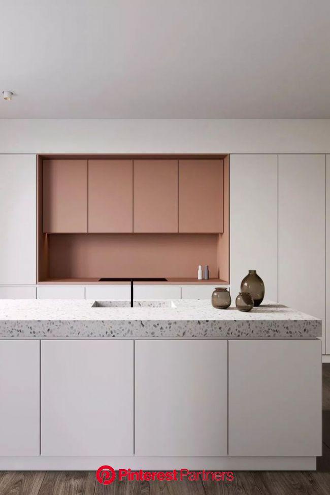 Le terrazzo dans la cuisine : tendance granito (avec images) | Decoration cuisine, Granito, Cuisine rustique