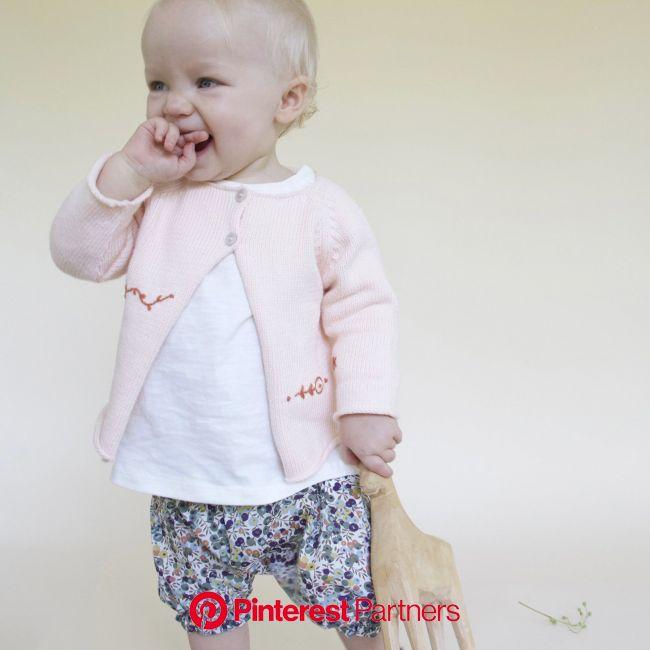 Ikebana Pink Cardigan | Pink cardigan, Kids fashion, Cardigan