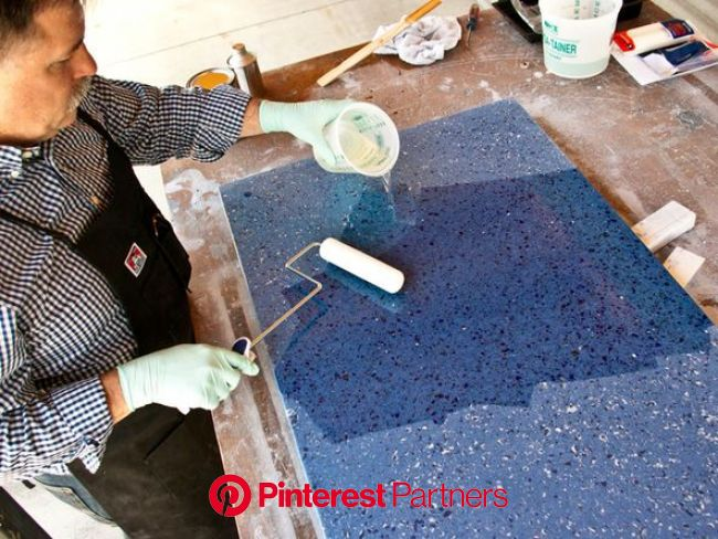 Make Recycled Glass Countertops | CHENG Concrete Exchange | Glass countertops, Recycled glass countertops, Making concrete countertops