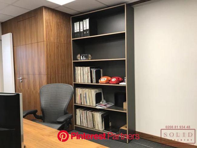 Sliding Bookcase And Office Privacy [Video] | Secret rooms, Office interior design, Furniture design