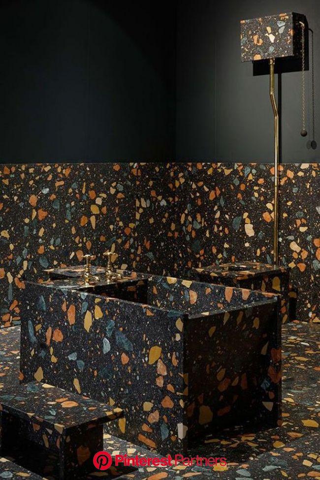 O marmorite está de volta! | Marmorite, Design de interiores de banheiro, Móveis para banheiro