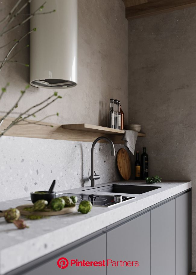 THE HOUSE OF SILENCE on Behance | Interior design kitchen, Home decor kitchen, Kitchen interior