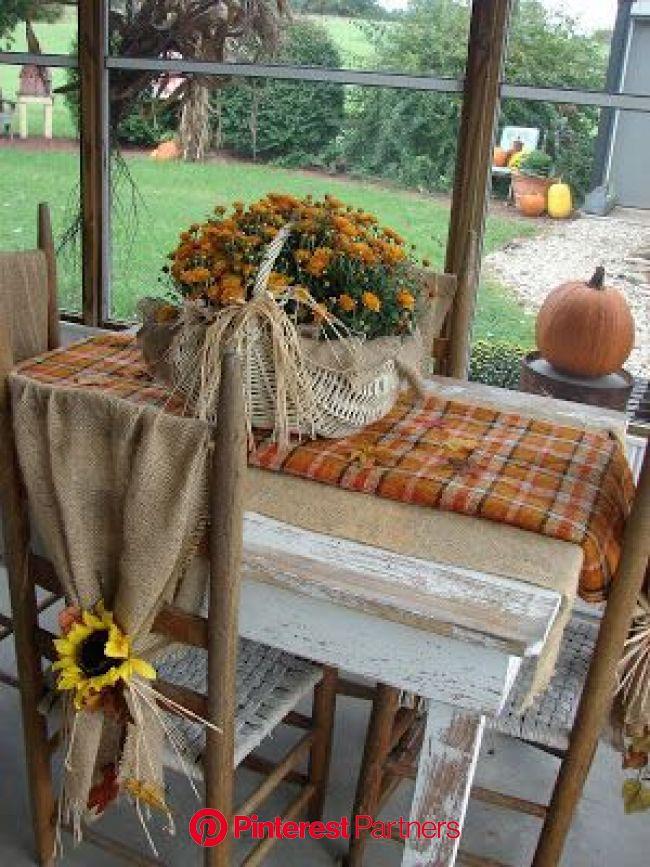 Farmhouse Autumn Decor and Project Ideas | Farmhouse fall decor, Autumn decorating, Fall deco
