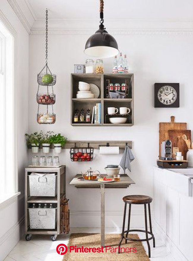 Pottery Barn PB Apartment Brand Launch 2018, Small Space Decor | Small apartment decorating, Decorating small spaces, Small room design
