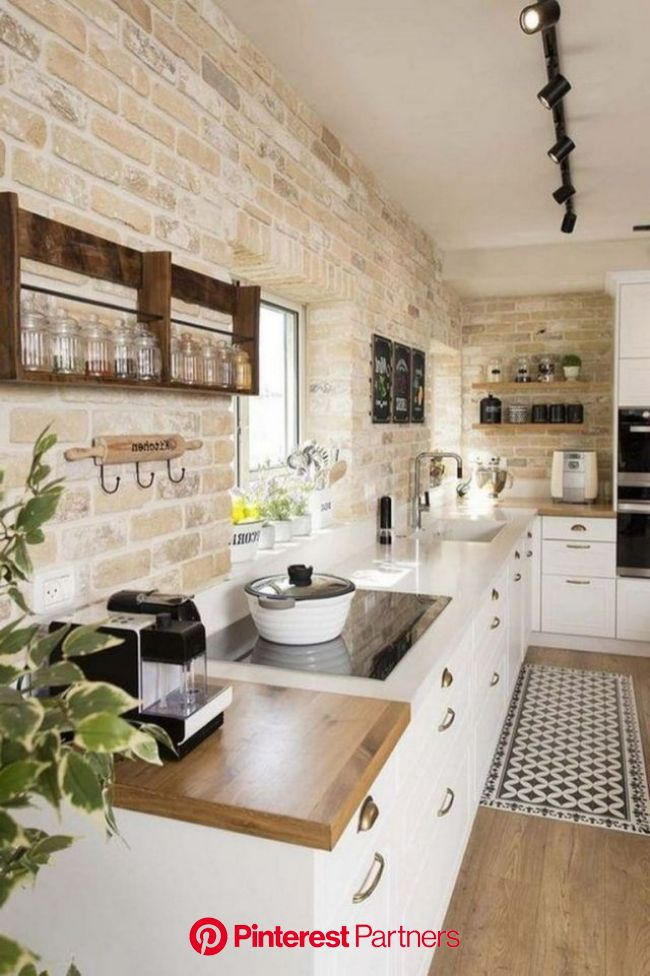 35+ Awesome Most Amazing Rustic Farmhouse Kitchen Design | Kitchen design small, Farmhouse kitchen decor, Home decor kitchen