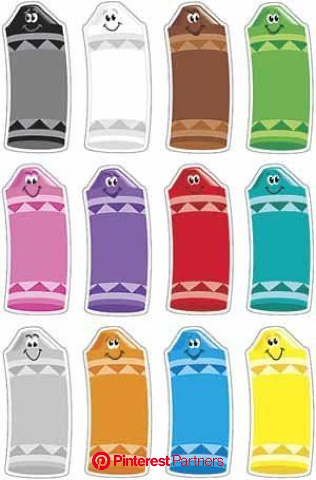 Crayon Colors Classic Accents Variety Pack by Trend. $4.79. Accents. Add a sense of fun and wond… | Preschool colors, Preschool learning activities, T