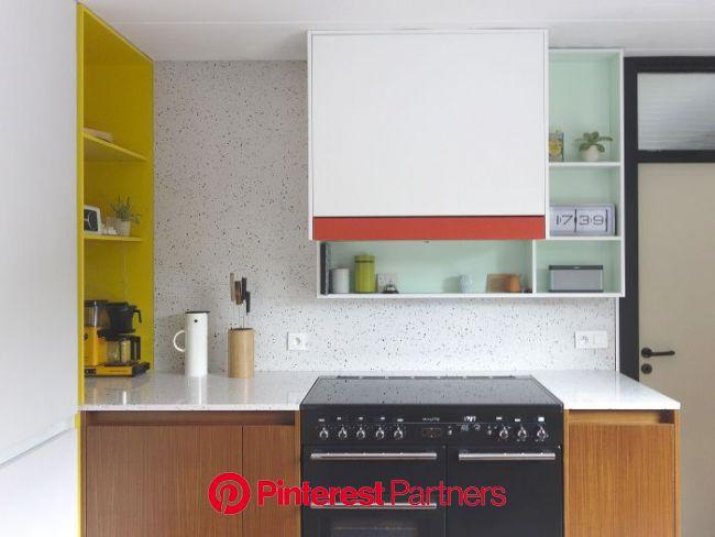 Les agencements colorés et scénographiés de l'architecte designer Dries Otten || Projet Bloem… | Intérieur moderne de cuisine, Intérieur de cuisi