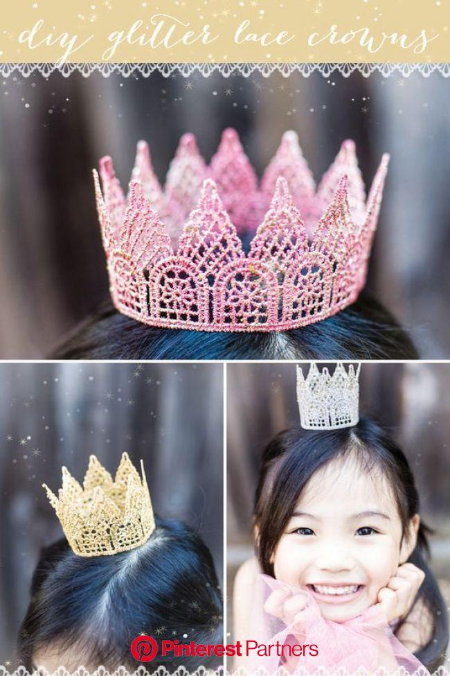 いつだってお姫様気分♡レースクラウンでひな祭りも楽しもう♪ | 王冠 手作り, ひな祭り, 誕生日プレゼント 手作り 100均