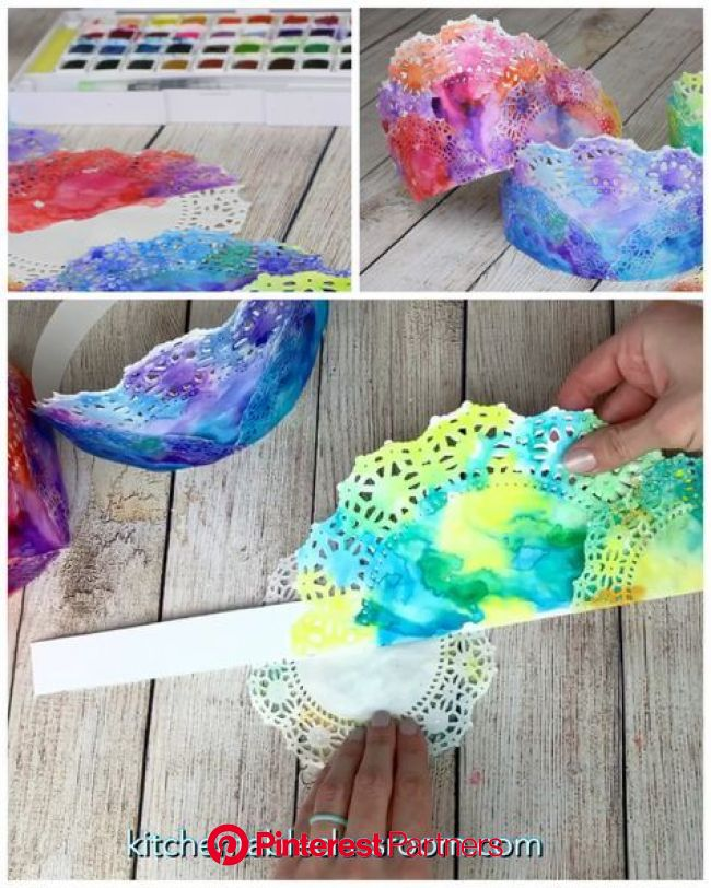 Painted Crowns- Colorful DIY Paper Crowns - The Kitchen Table Classroom | Crafts, Toddler crafts, Preschool crafts