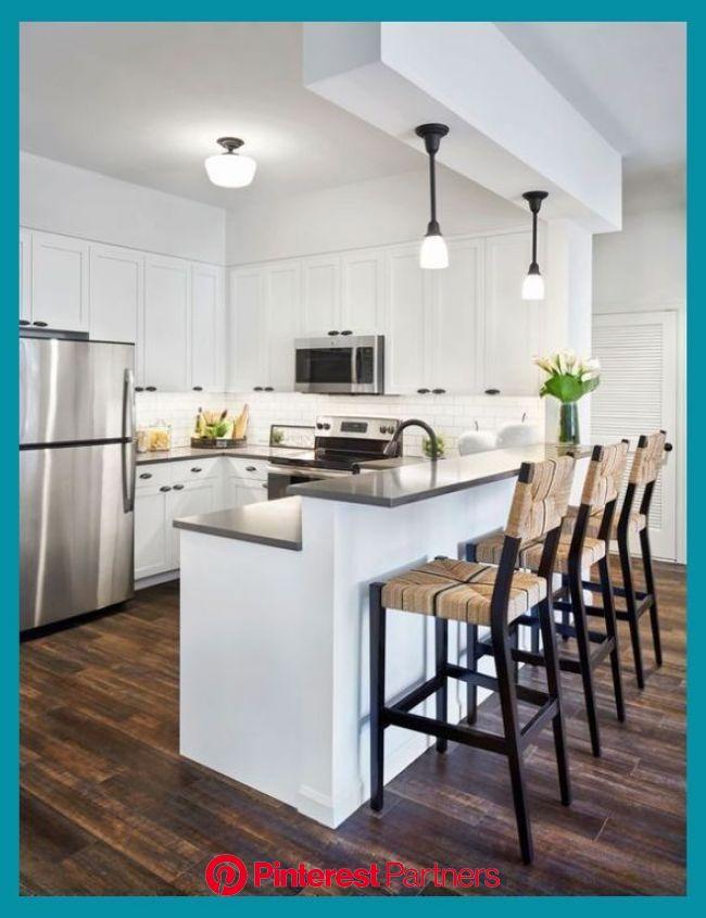 Jazz Up Your Kitchen With Trendy Kitchen Bar Stools | Kitchen Decor Tips | Kitchen remodel small, Kitchen layout, Modern kitchen