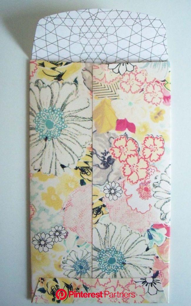 homemade envelopes (With images) | Homemade envelopes, Envelope pattern, Diy paper