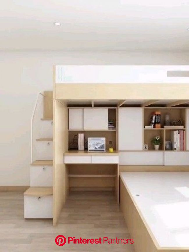 This is how to save space in your Bedroom! [Video] in 2020 | Home room design, Small bedroom designs, Apartment design