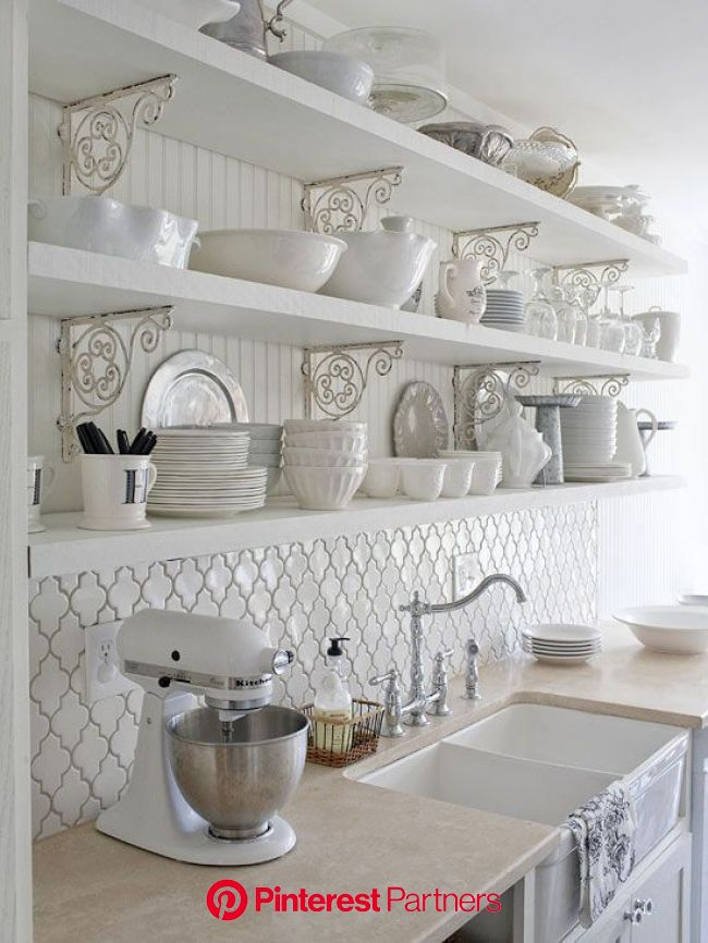 25+ Beautiful Country Kitchens to Copy ASAP in 2020 | Country kitchen designs, Shabby chic kitchen, Country kitchen