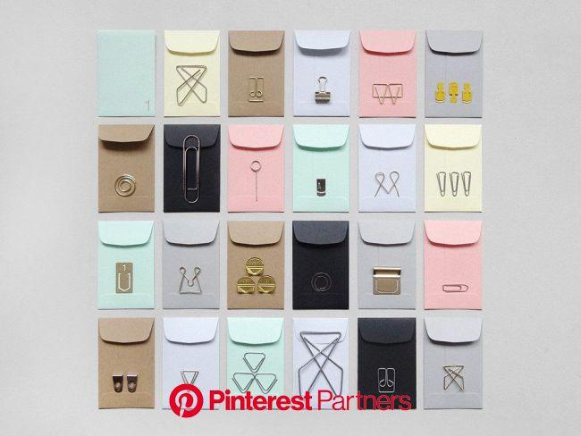 Paperclip Advent | Artículos de papelería, Regalos creativos, Manualidades