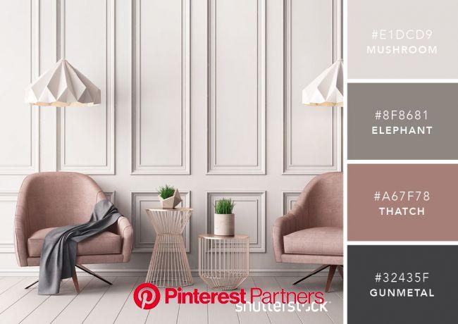 無料のデザイナー用カラーパレット 101選をご紹介します | インテリアカラースキーム, インテリア 配色, カラフルな家