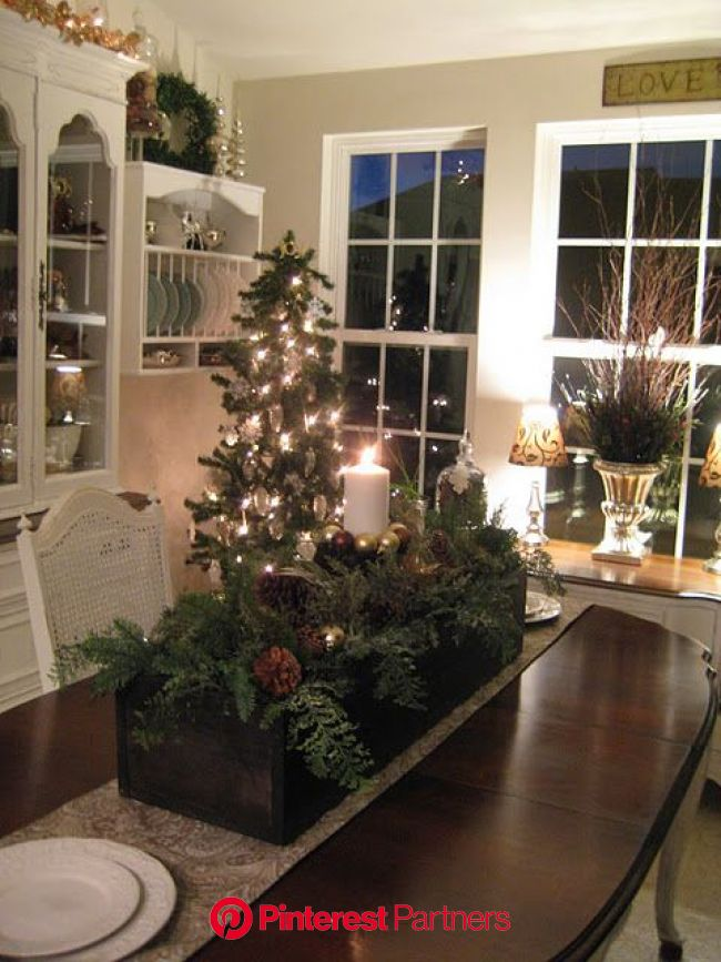 A Comfy Little Place of My Own | Christmas centerpieces, Christmas decorations, Christmas