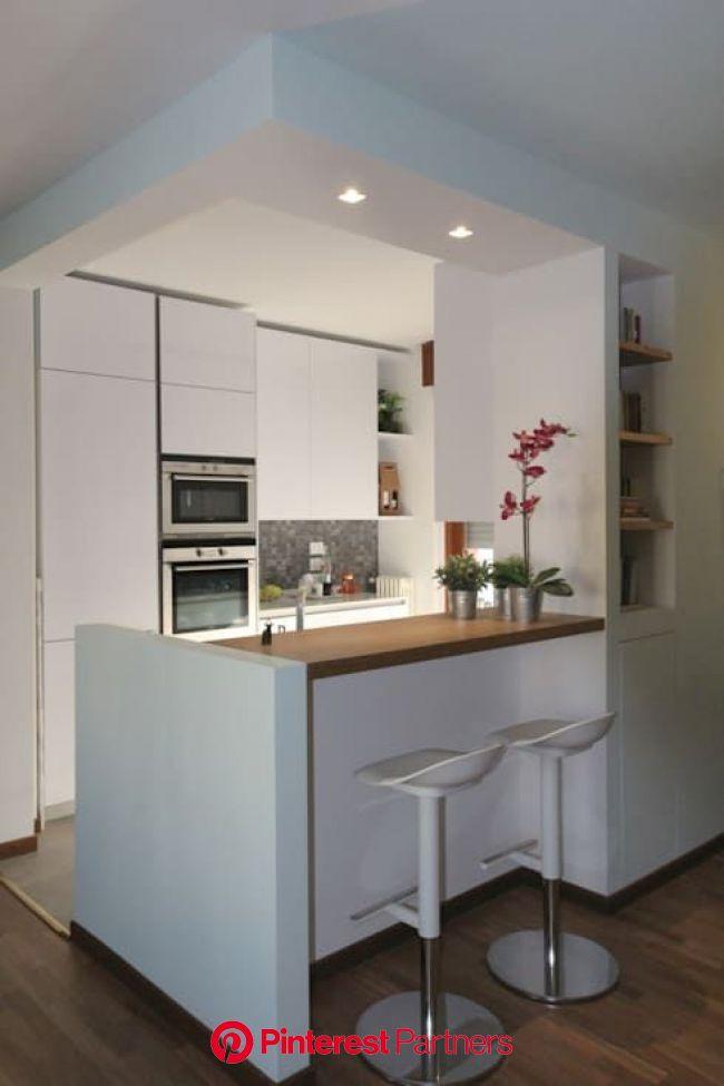 7 cocinas geniales para una casa pequeña | homify | Decoración de cocina moderna, Decoración de cocina, Diseño de interiores de cocina