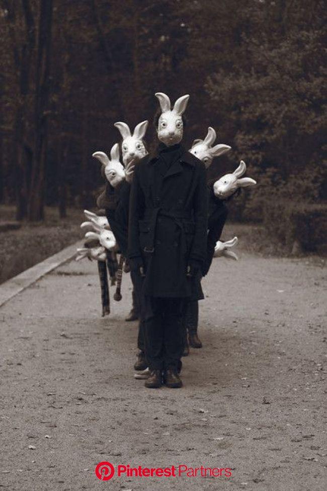 IMG_2095 | Scary art, Creepy photography, Bunny mask