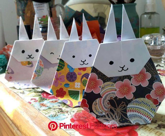 Conejitos(画像あり) | 折り紙, ひなまつり 折り紙, おりがみ