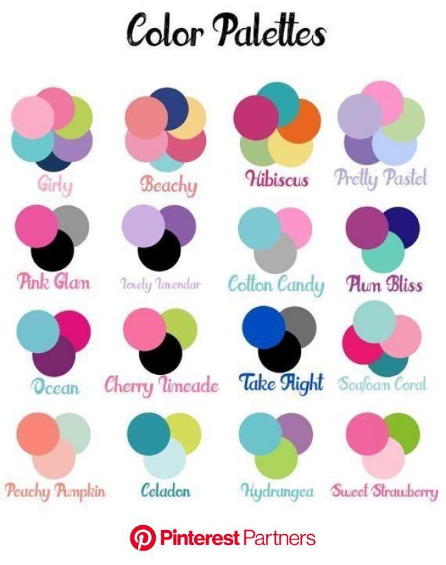 Tabela com 72 harmoniosas combinações de cores | Combinações de cores, Amostras de cores, Combinação de cores
