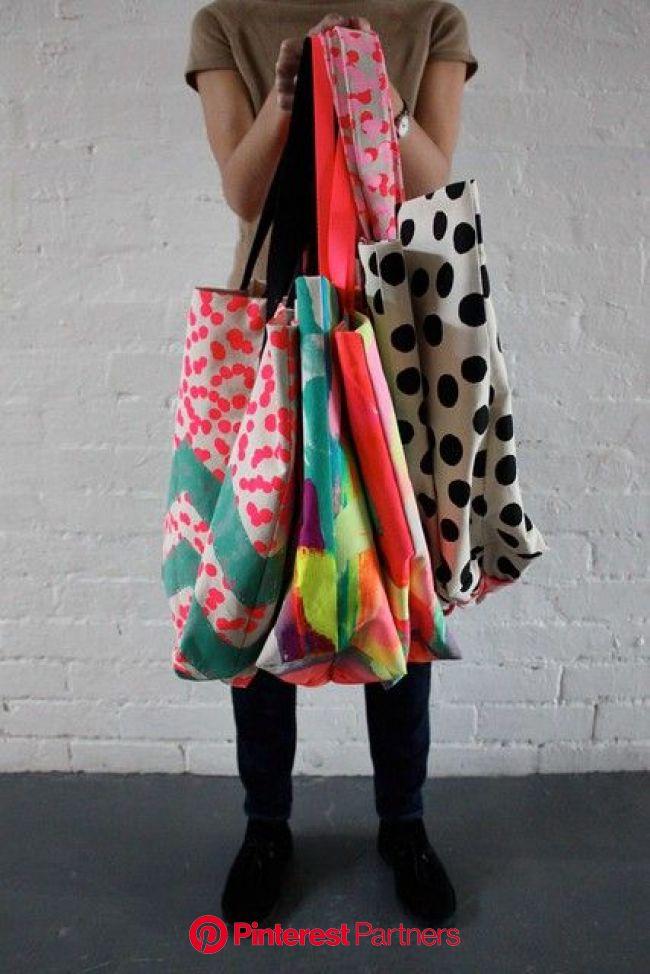 Harvest Textiles Tote Bags | 布バッグ, 編み袋, 手作りカバン