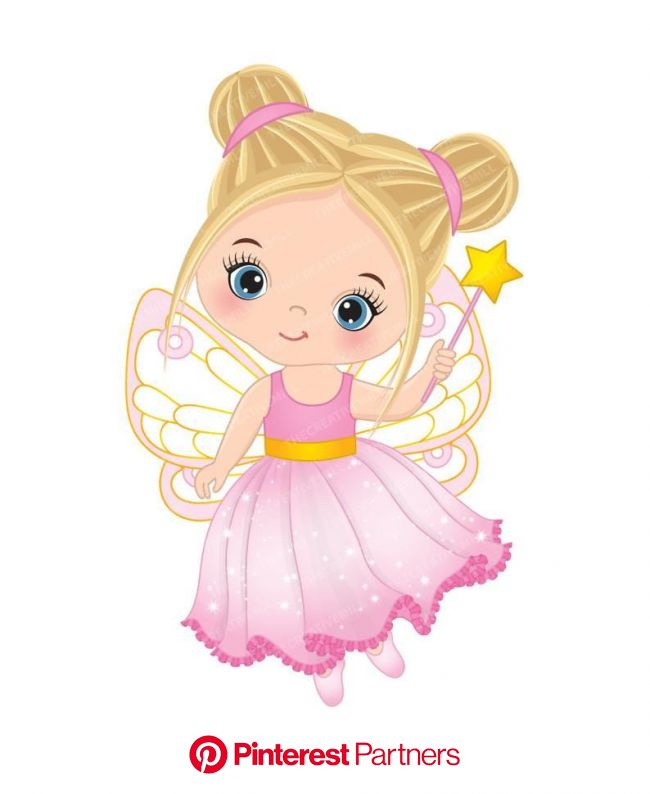 Little Fairy Clipart  Vector Fairy Clipart Princess Clipart | Etsy | Fairy clipart, Cute fairy, Fairy cartoon