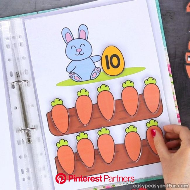 Printable Easter Quiet Book - Activity Book for Pre-K and K | Preschool learning activities, Toddler learning activities, Easter activities for kids