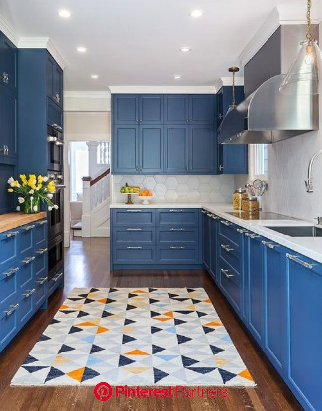 20 Sophisticated Galley-Style Kitchens | Galley style kitchen, Galley kitchen design, Kitchen design color