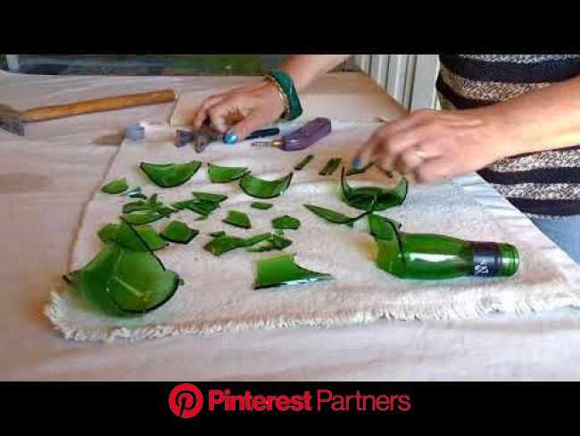 RECICLADO DE BOTELLAS SEGUNDO VIDEO - YouTube | Cortando botellas de vidrio, Ideas botellas de vidrio, Reciclaje botellas de vidrio