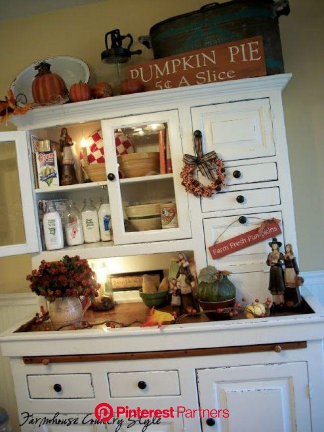 Farmhouse Country Style: Thankful Be | Farmhouse fall decor, Decor, Home decor