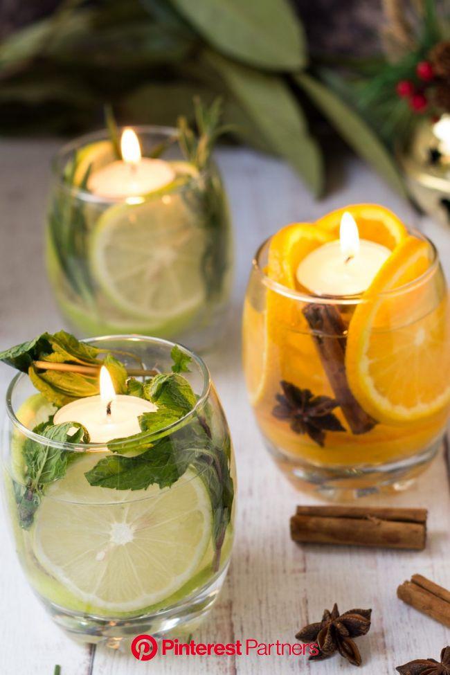Ricetta - Candele agli agrumi handmade | iFood | Ricetta | Candele fai da te decorate, Candele fai da te profumate, Candele fai da te
