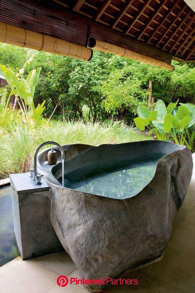 Roseland Art & Decor on in 2020   Natural home decor, Stone bathtub, Outdoor baths