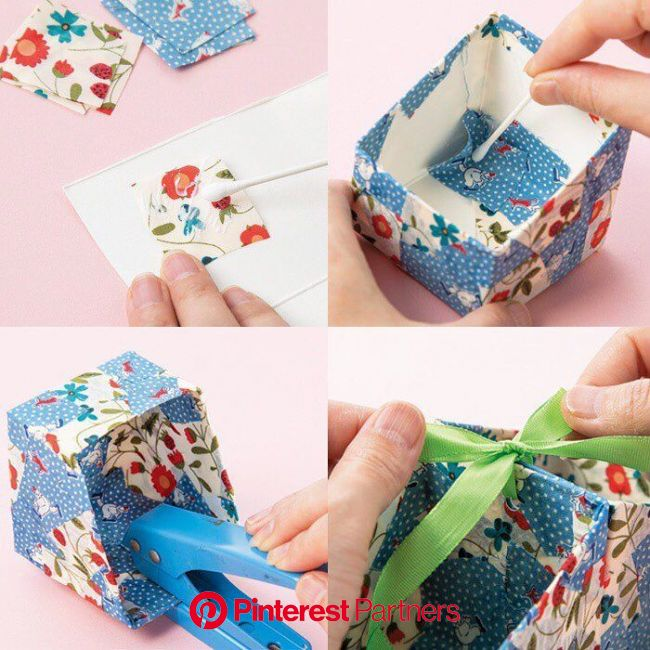 形がかわいい「牛乳パックの小物入れ」   Crafts for kids, Crafts, Diy, crafts